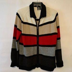 Jason Maxwell Ladies Multicolored Sweater
